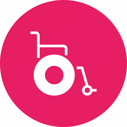 chair, challenged, handicap, physically, wheel, wheelchair icon