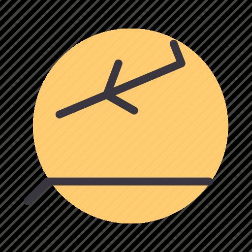 airplane, airport, arrival, flight, landing, runway icon