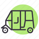 auto, automobile, rickshaw, transport, travel, vehicle icon