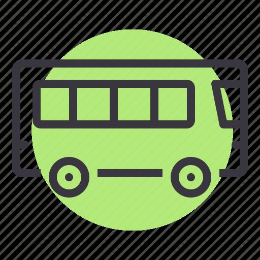 bus, public, transport, transportation, travel, vehicle icon