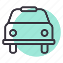 cab, car, taxi, transport, travel icon
