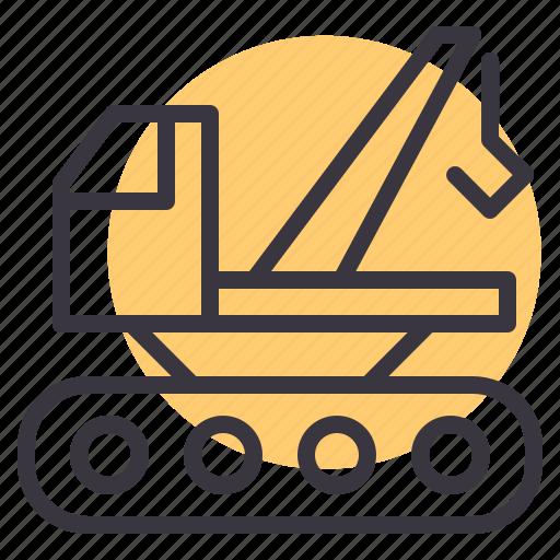 Construction, crane, lift, jcb icon - Download on Iconfinder