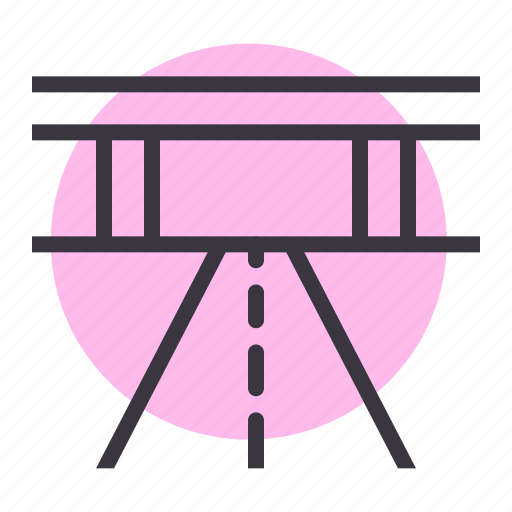 flyover, highway, public, road, roadways, transport, transportation icon