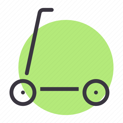 micro, scooter, toy icon