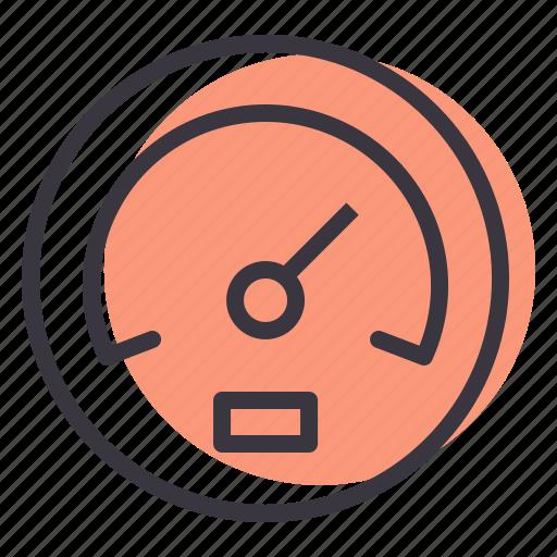 car, dashboard, indicator, speed, speedometer icon