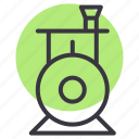 engine, locomotive, steam, toy, train, transport icon