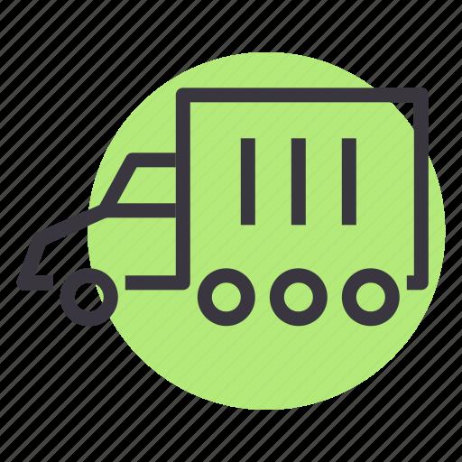 cargo, carrier, transport, truck, van icon