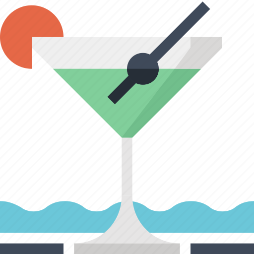 alcohol, bar, beverage, cocktail, drink, glass, martini icon