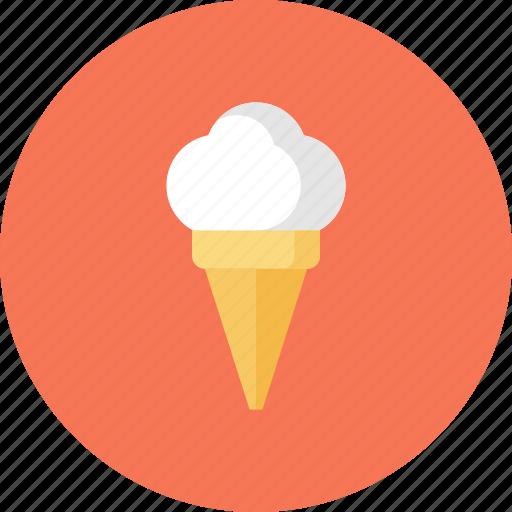 Cold, cone, cream, dessert, food, ice, summer icon - Download on Iconfinder