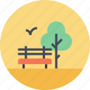 cityscape, garden, leisure, nature, park, recreation, tree icon