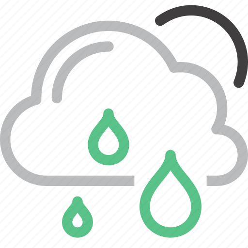 Cloud, forecast, nature, rain, sky, sun, weather icon - Download on Iconfinder