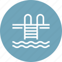 pool, sport, summer, swim, swimming, vacation, water icon