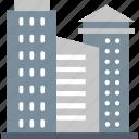 architecture, break, building, city, escape, leave, skyscrapers icon