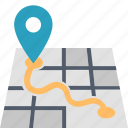 destination, gps, location, map, marker, navigation, pin icon