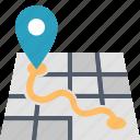 destination, gps, location, map, marker, navigation, pin
