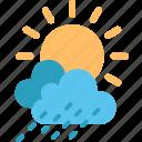 weather, climate, cloud, cloudy, forecast, rain, sun