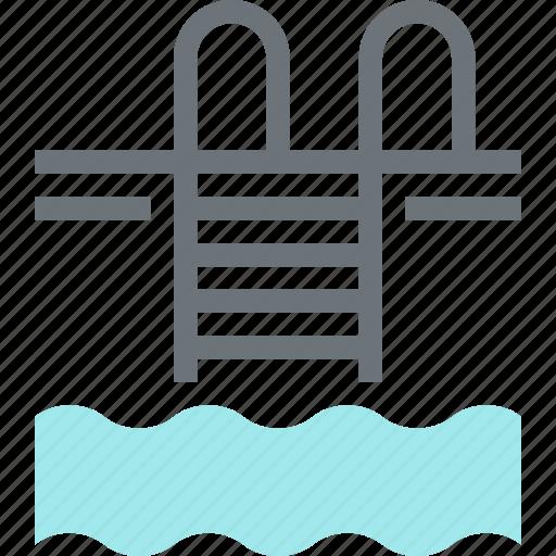 pool, sport, summer, swim, swimming, vacation, water icon