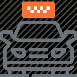 car, drive, taxi, transport, transportation, travel, vehicle icon