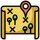interface, location, map, pin, placeholder, point, pointer, signs icon
