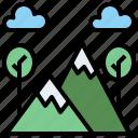 adventure, flag, mountain, mountains, nature, peak, peaks, sports icon