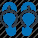 slipper, footwear icon