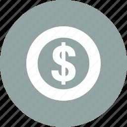 cash, dollar, money, usd icon