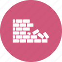brick, bricks, wall icon