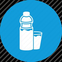 bottle, plastic bottle, water, water bottle icon