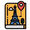 book, guide, location, maps, travel icon