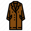 coat, garment, glove, scarf, winter