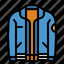 cloth, coat, garment, jacket, overcoat icon