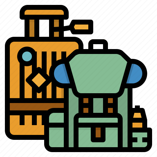 baggage, luggage, suitcase, travel, travelling icon