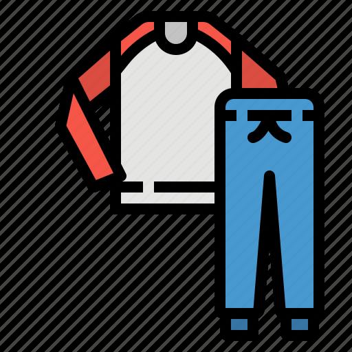 clothes, fashion, garment, pajama, sleep icon