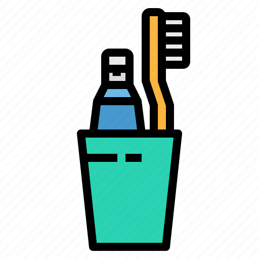 Healthcare, medical, teeth, toothbrush, toothpaste icon - Download on Iconfinder