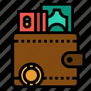 card, cash, credit, money, wallet icon