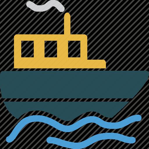 Ship, boat, marine, ocean, sea, travel, vacation icon - Download on Iconfinder
