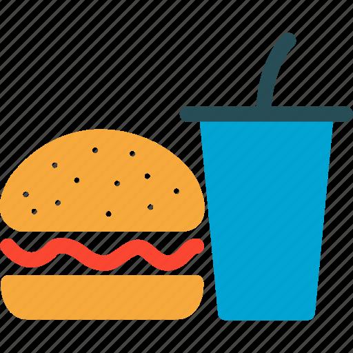 beverage, burger, cooking, drink, eating, food, restaurant icon