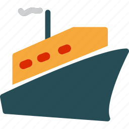 marine, ocean, ship, shipping, transport, transportation icon