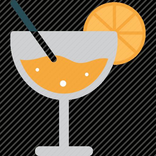 beverage, cocktail, drink, drinks, glass, orange icon