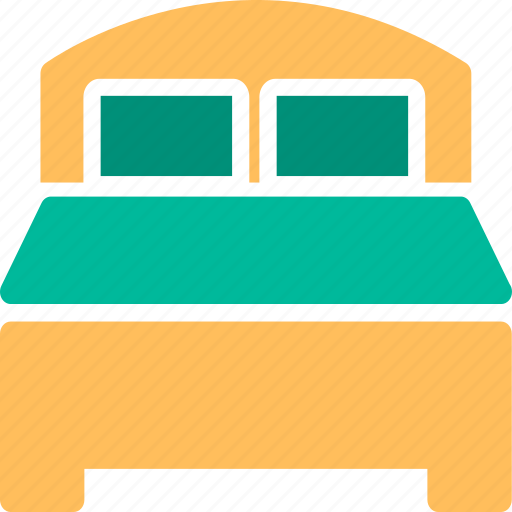 bed, bedroom, furniture, hotel, interior, lodging, room icon