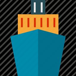 boat, marine, ocean, sea, ship, shipping icon