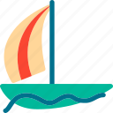 boat, ship, shipping icon