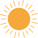 day, hot, sun, sunny, temperature, weather icon