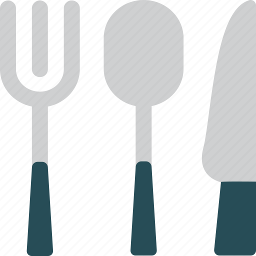 dinner, eat, eating, fork, knife, restaurant, spoon icon