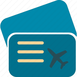 document, files, folder, passport, ticket, travel icon