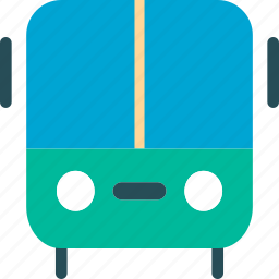 auto, automobile, bus, delivery, transport, transportation, vacation icon