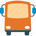 auto, automobile, bus, transport, transportation, vacation, vehicle icon