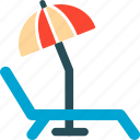 holiday, holidays, travel, umbrella, vacation icon