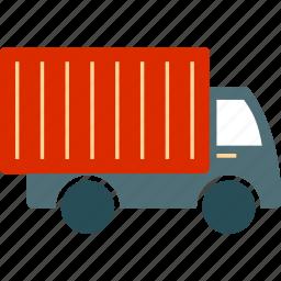 auto, automobile, bus, shipping, transport, transportation, van icon