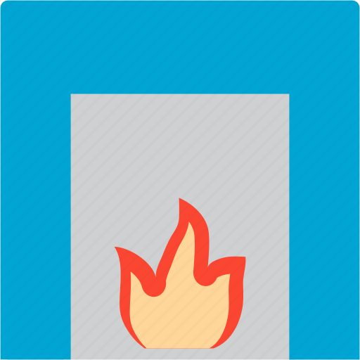 fire, flame, heat, hot, temperature icon